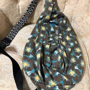 Kavu cross body rope sling bag